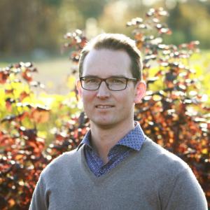Porträtt på Thomas Lindberg, kiropraktor